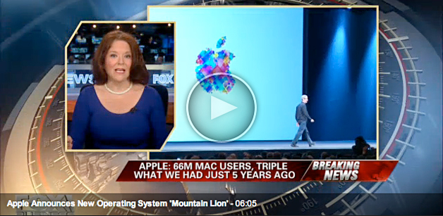 Apple announces new operating system 'Mountain Lion'