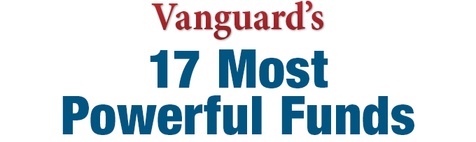 Vanguard's 17  Most Powerful Funds