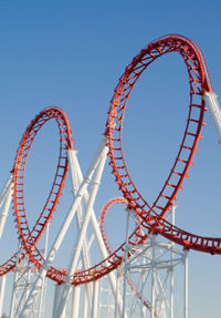 roller coaster 10 Rules for Successful Investing in 2010